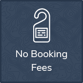 No Booking Fees